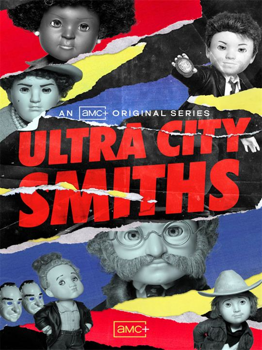 Ultra City Smiths : Affiche