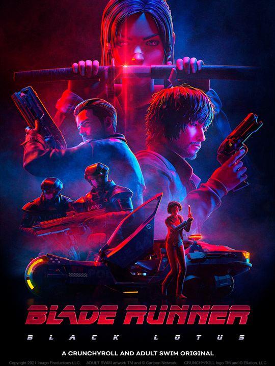 Blade Runner - Black Lotus : Affiche