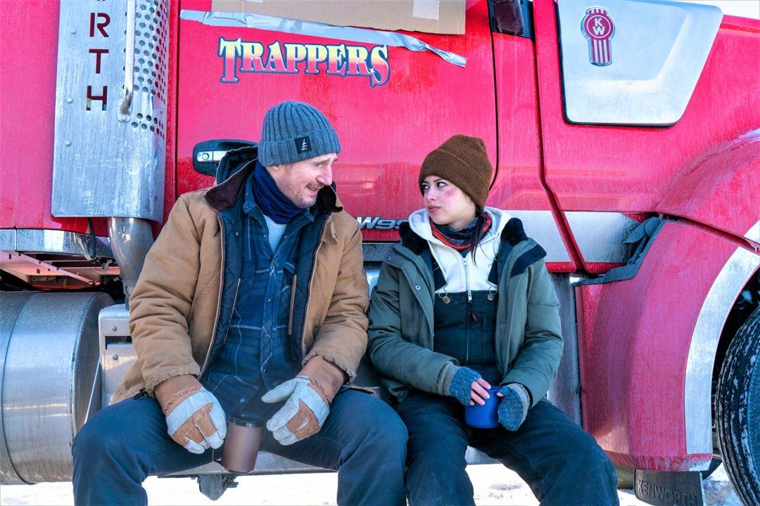 Ice Road : Photo Amber Midthunder, Liam Neeson