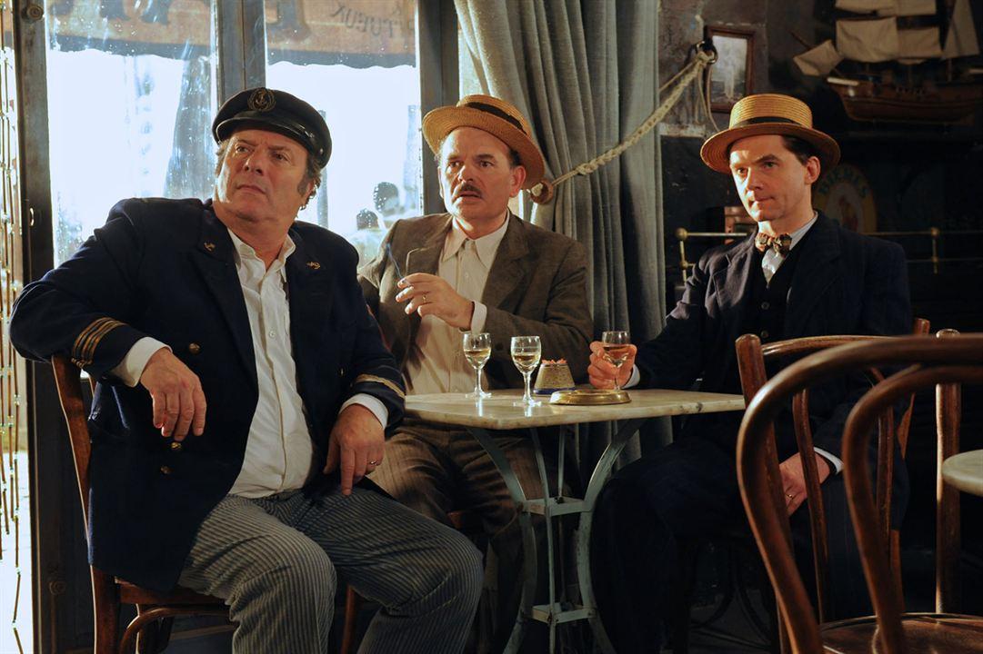 Fanny : Photo Daniel Russo, Jean-Pierre Darroussin, Nicolas Vaude