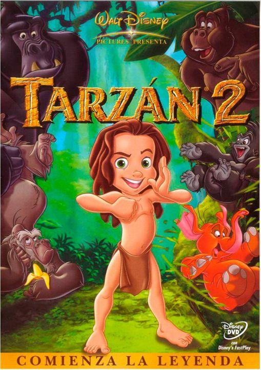 Tarzan II (V): Brad Garrett, Estelle Harris, Brenda Grate, Brian Smith (VI), Harrison Chad, Harrison Fahn, George Carlin
