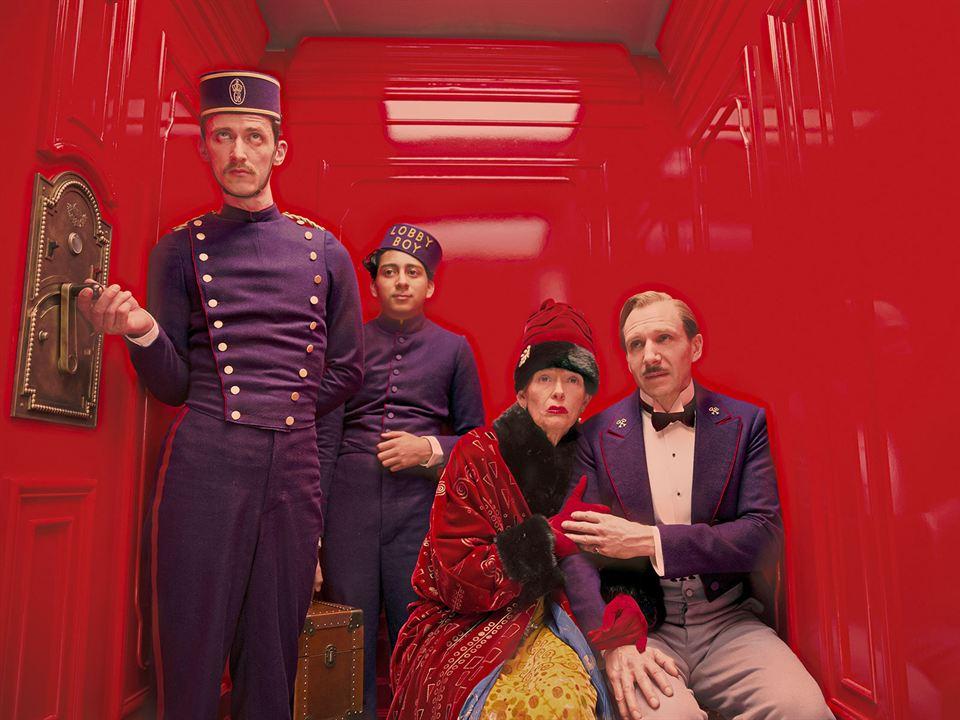 The Grand Budapest Hotel: Ralph Fiennes, Tony Revolori, Paul Schlase, Tilda Swinton