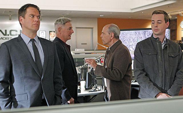 Photo Joe Spano, Mark Harmon, Michael Weatherly, Sean Murray
