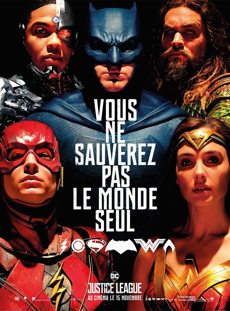 Affiche du film Justice League