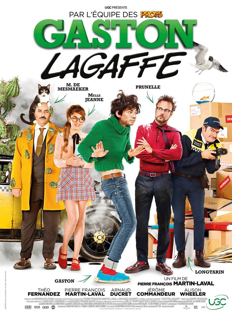 Gaston Lagaffe Film en Streaming VF