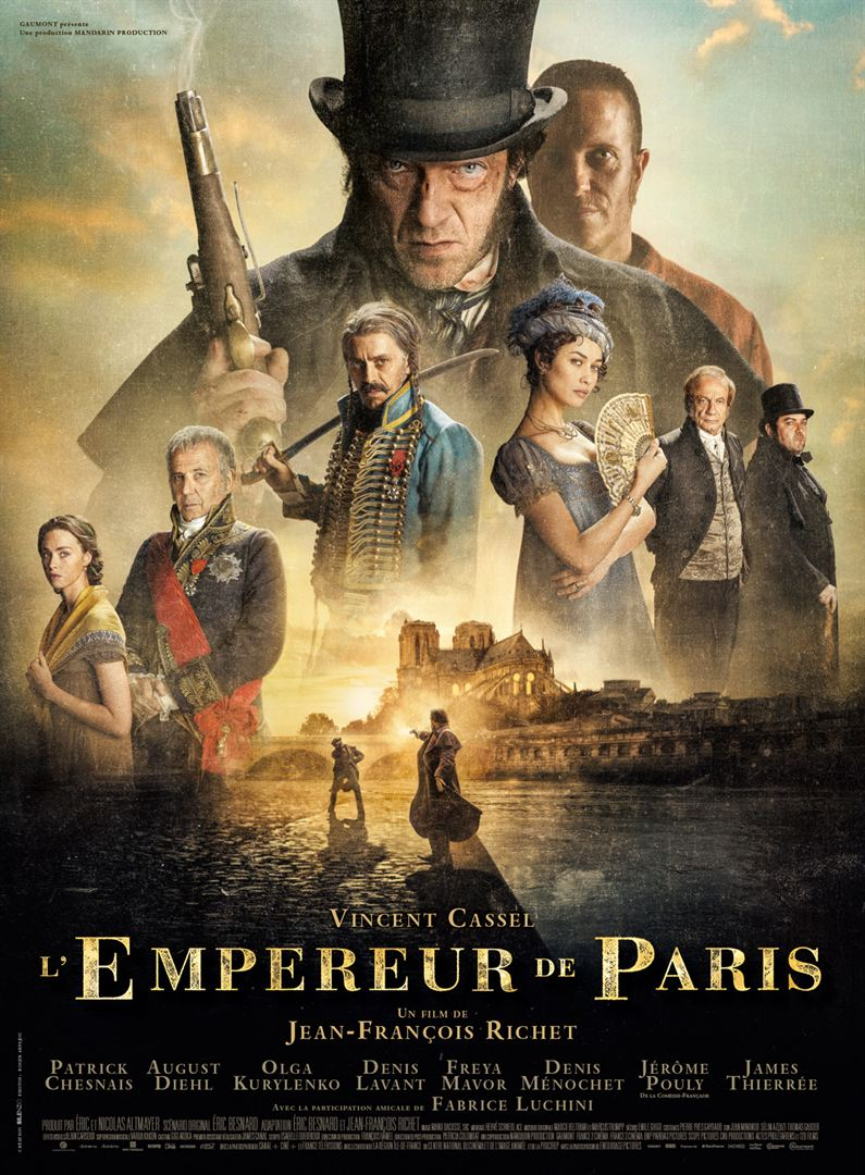 L'Empereur de Paris Film en Streaming VOSTFR