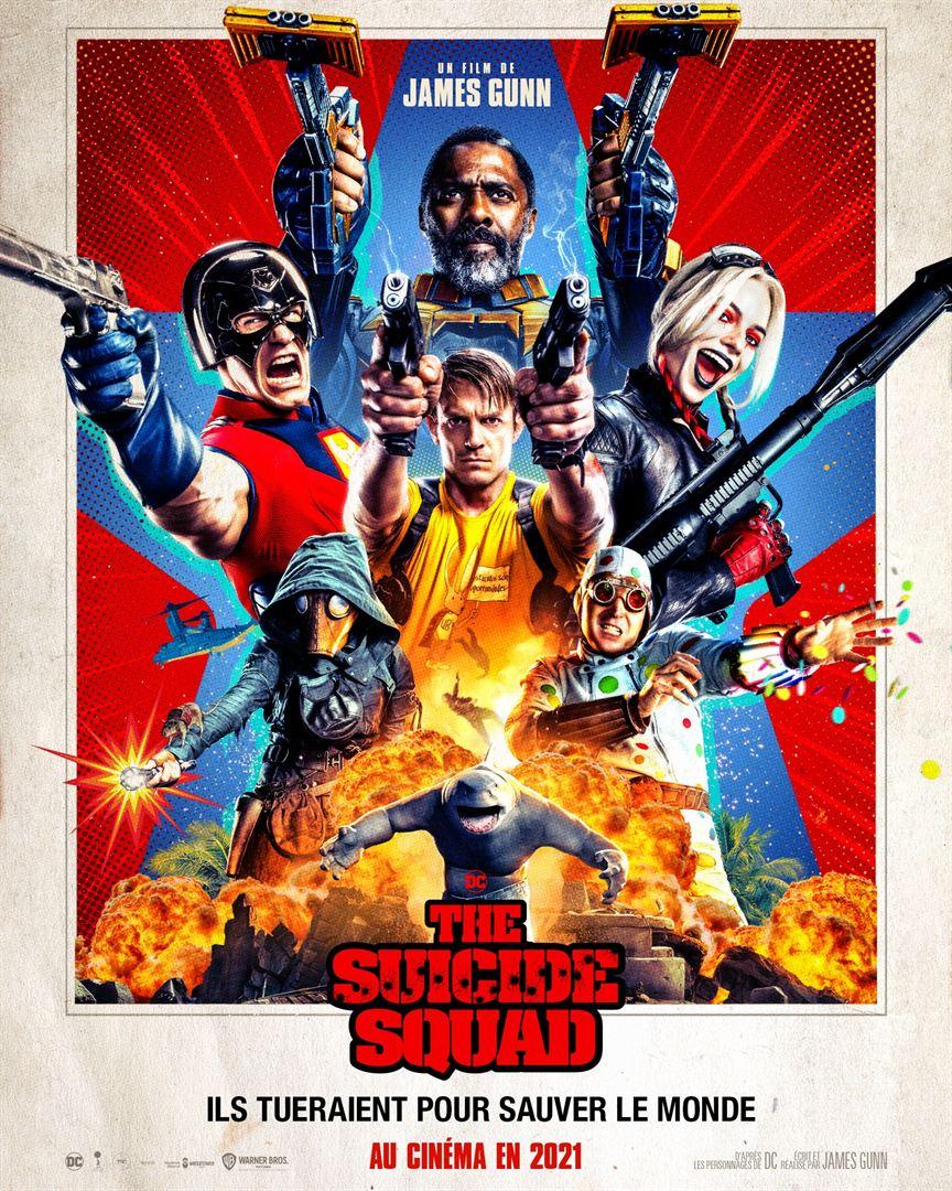 Affiche du film The Suicide Squad