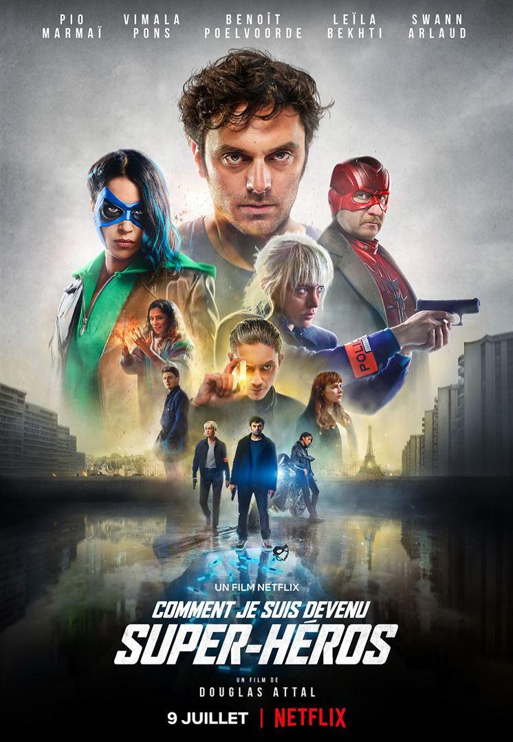 Affiche du film Comment je suis devenu Super-héros