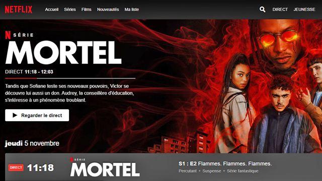 Netflix lance Direct, un programme TV en continu