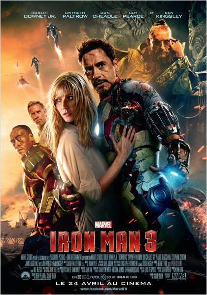 Iron Man 3 : Affiche