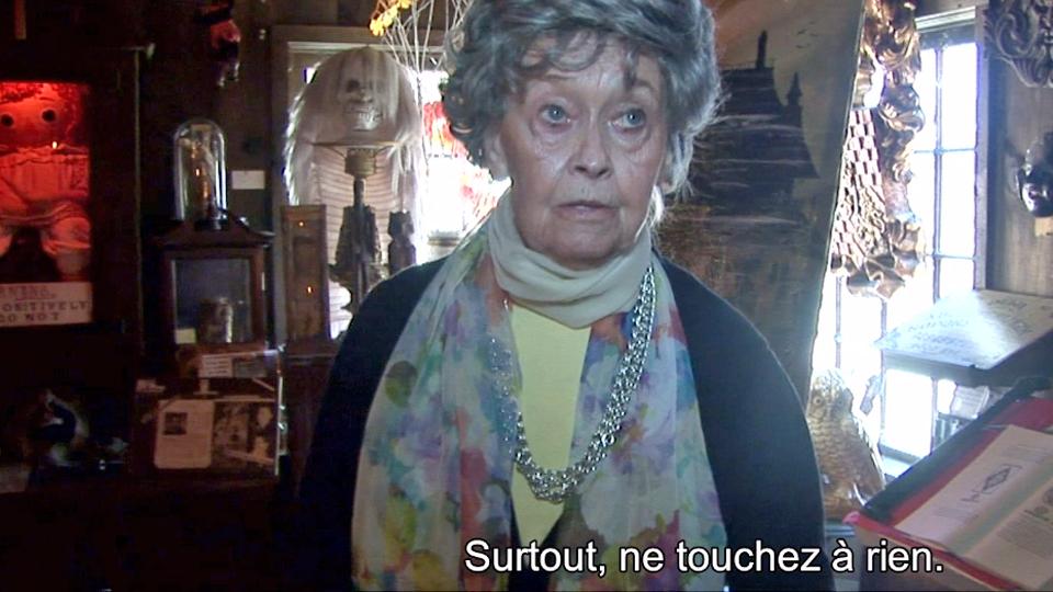 Reportage Sur Le Film Conjuring Les Dossiers Warren Suivez Lorraine Warren Au Musee De L Occulte Allocine